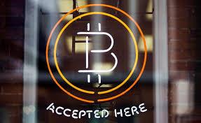 Bitcoin Retail Sign
